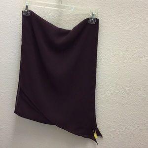 Beautiful burgundy scarf